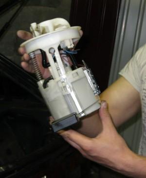 Замена топливного фильтра Форд