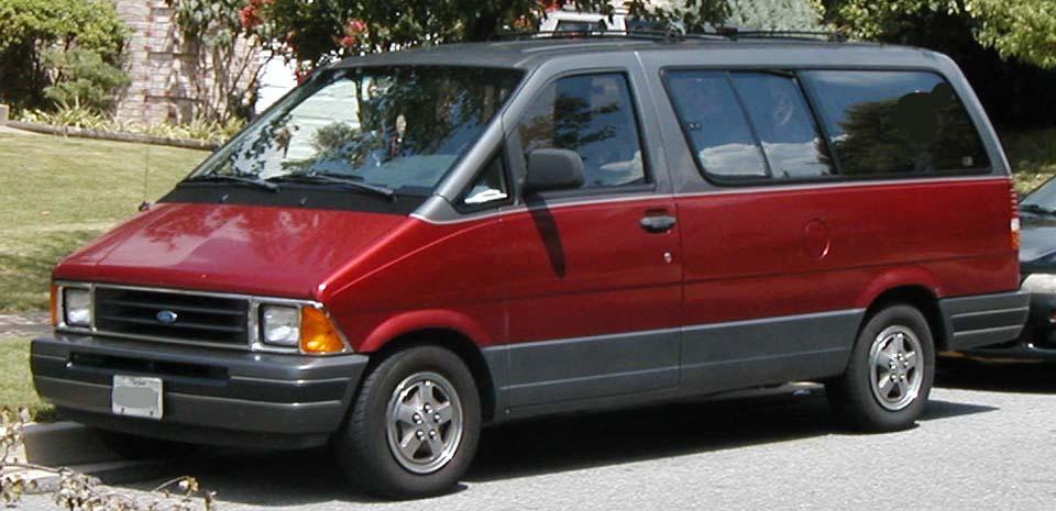 Технические характеристики Ford Aerostar