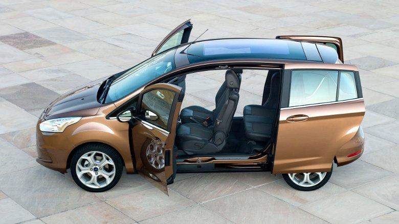 Технические характеристики Ford B-MAX