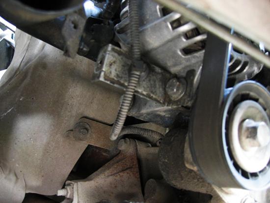 Как снять генератор на Форд Мондео 3