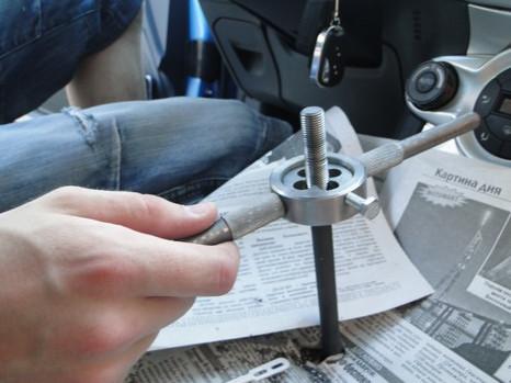 Укорачиваем рычаг КПП на Ford Fiesta