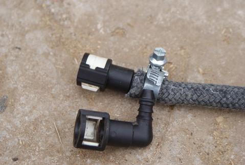 Установка фильтра тонкой очистки на Ford Focus 2