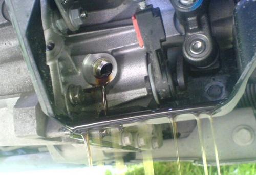 Замена масла в механической коробке передач форд фокус 2