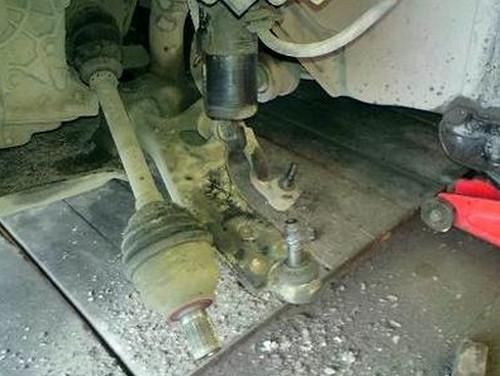 Замена ступичного подшипника форд фокус своими руками