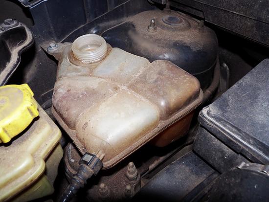 Замена расширительного бачка форд фьюжн