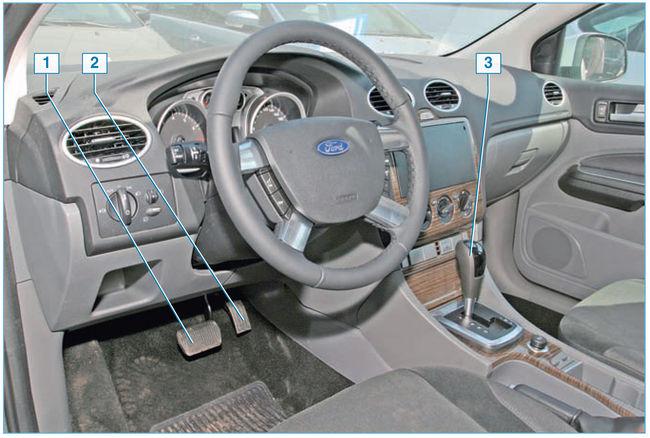 Органы управления автомобиля Ford Focus