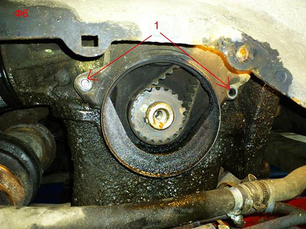 Замена ремня грм форд мондео 2